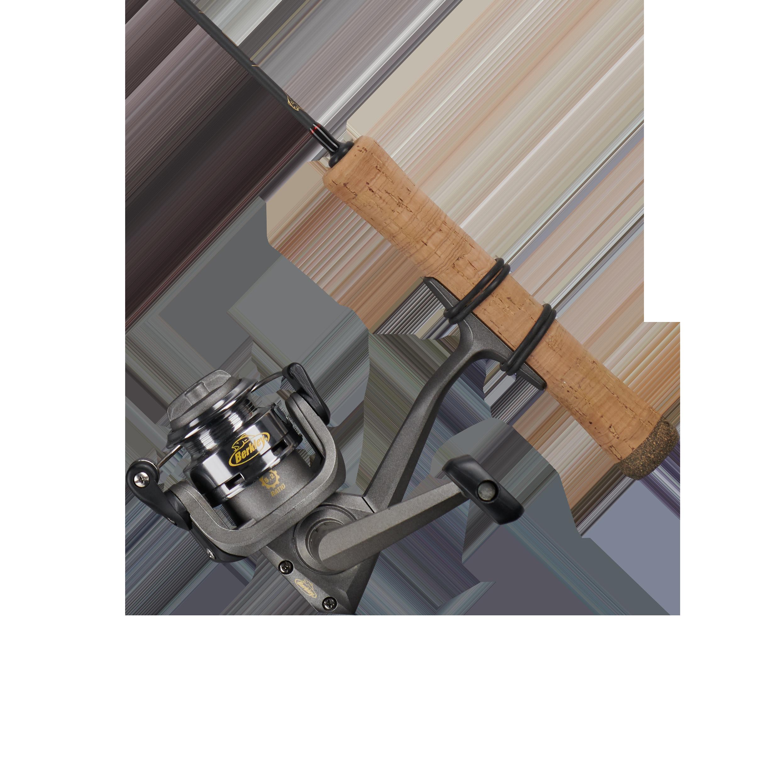 Berkley Lightning Ice Fishing Reel and Spinning Rod Combo