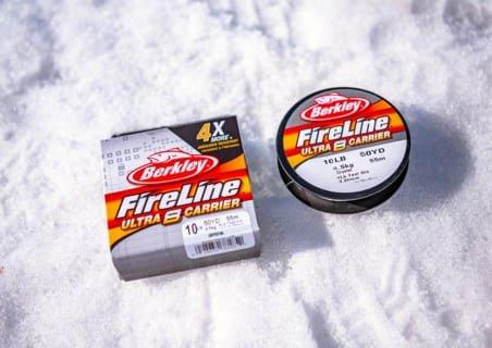 Fireline® packages on ice