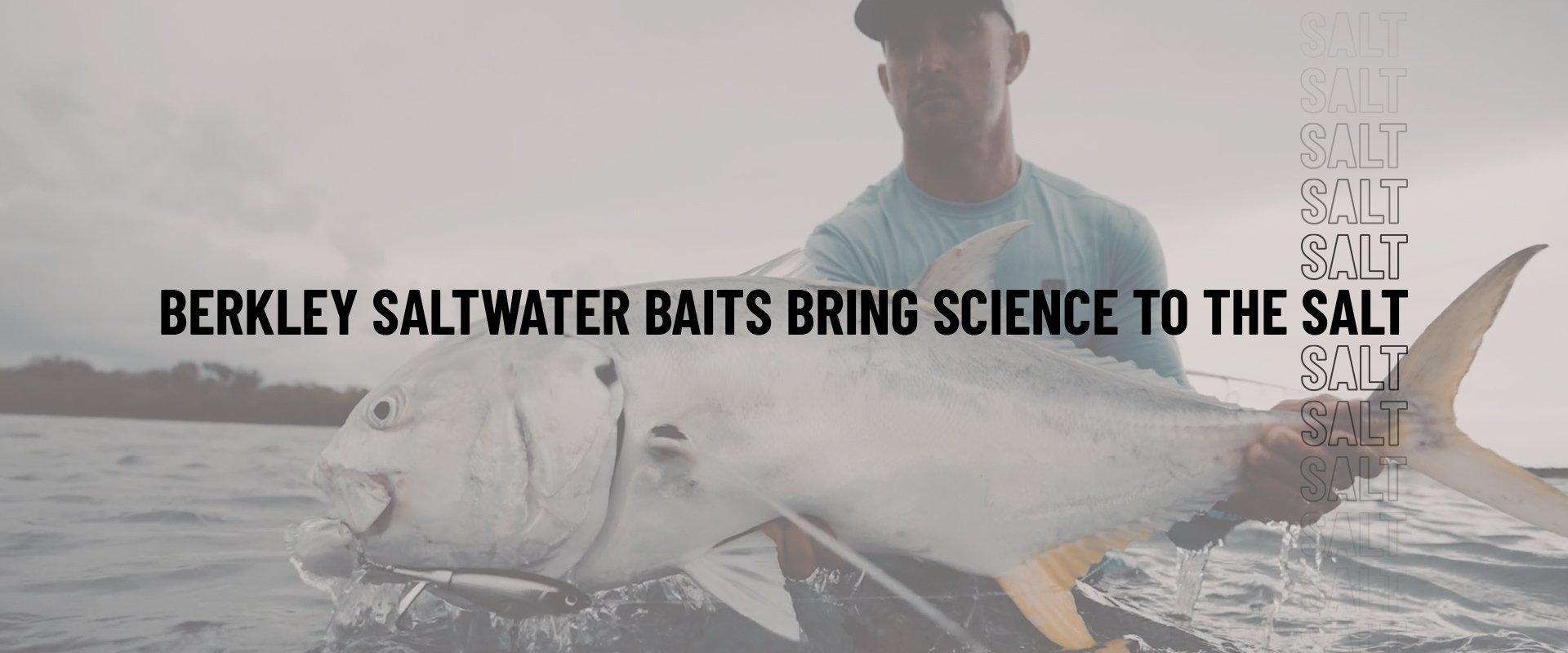 Berkley Saltwater Baits bring science to salt