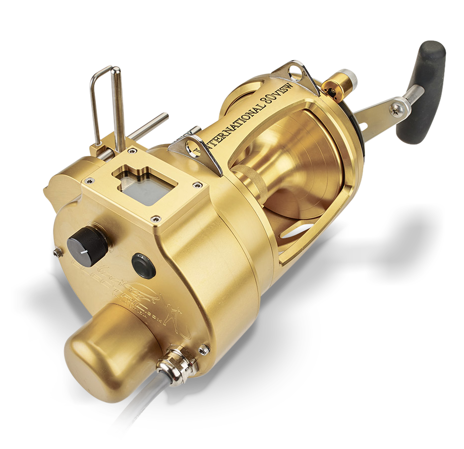 Hooker VI Electric Autostop 80 in gold