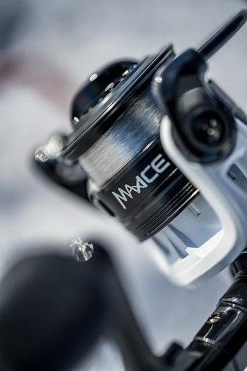 Close up of Max Ice reel