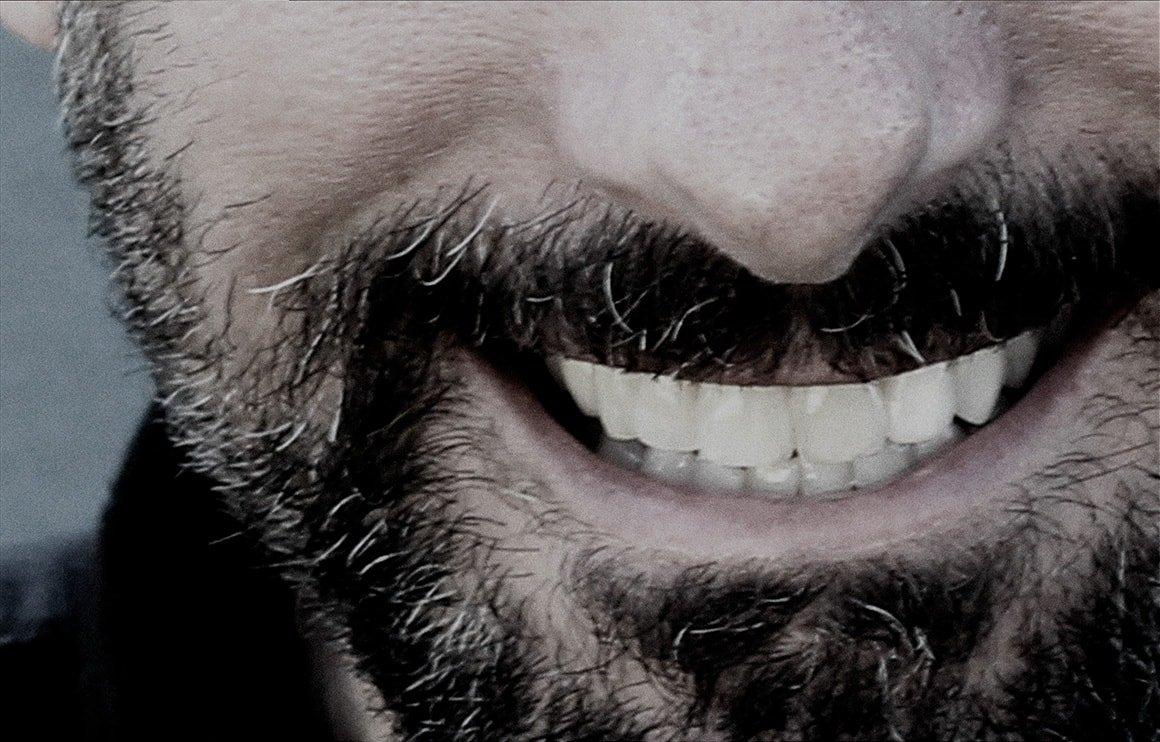Close-up of smiling mouth