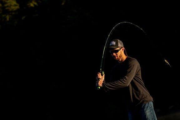 Angler casting reel