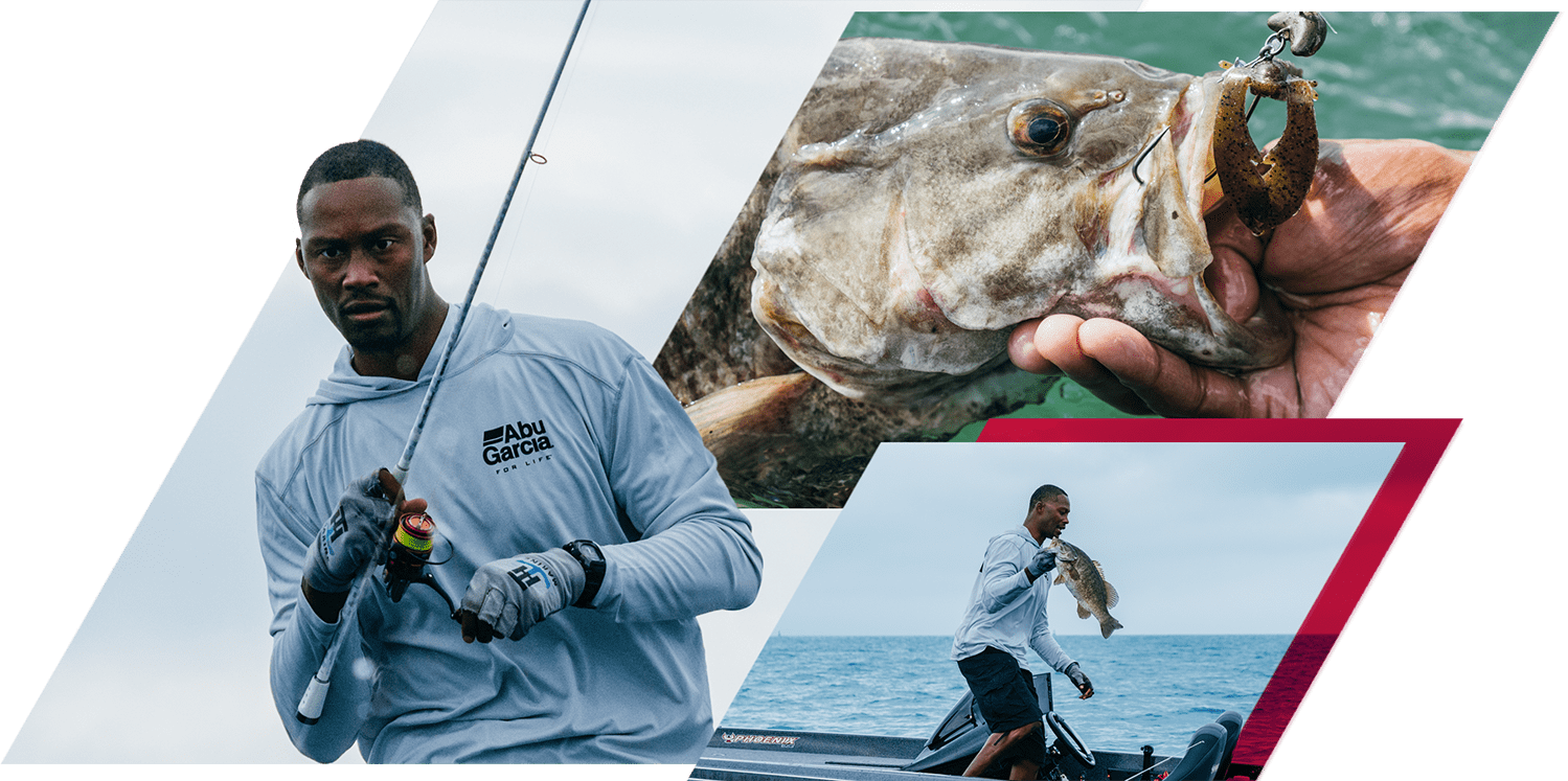 Collage of Devon Banks fishing