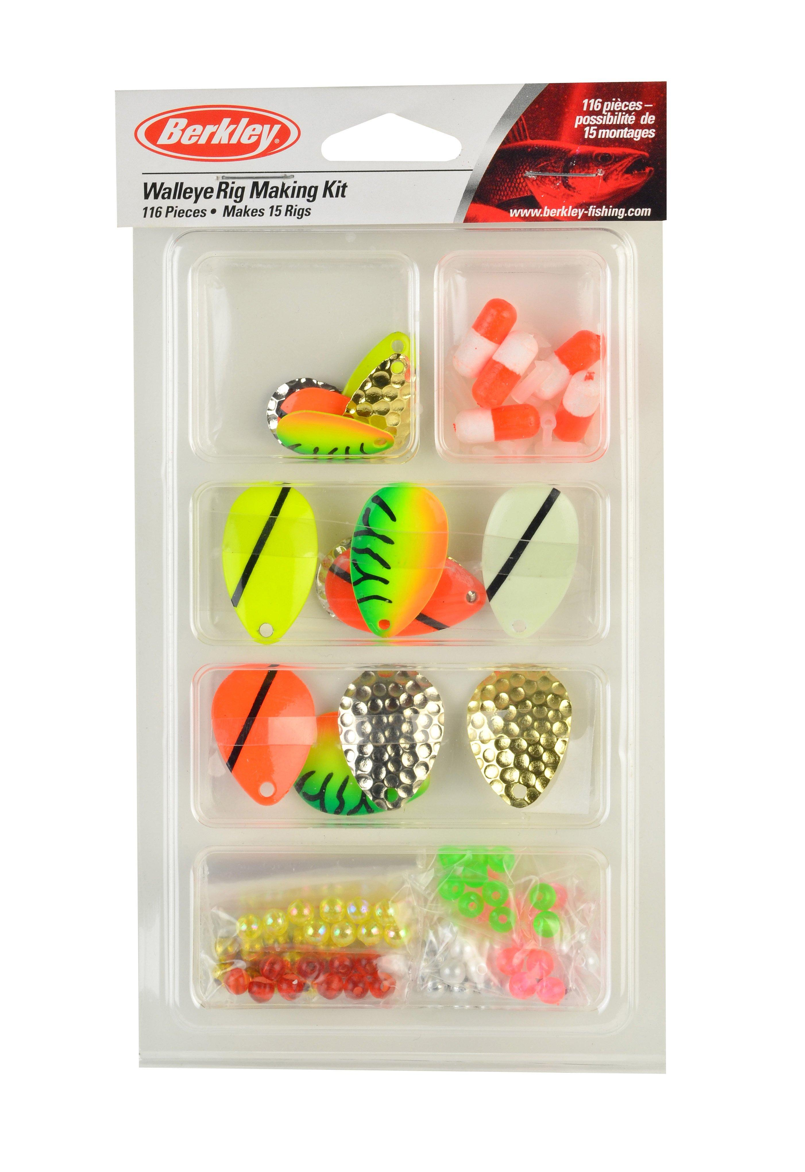 Spinner//Walleye Rig//Pompano Rig//Tail Spinner Making Kit DIY Spinnerbait Accesory